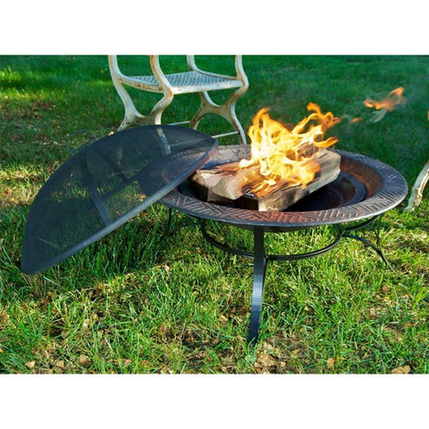 Good Directions 30-inch Medium Fire Pit with Spark Screen