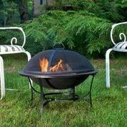"30"" Medium Fire Pit with Spark Screen by Good Directions Life on Plum"