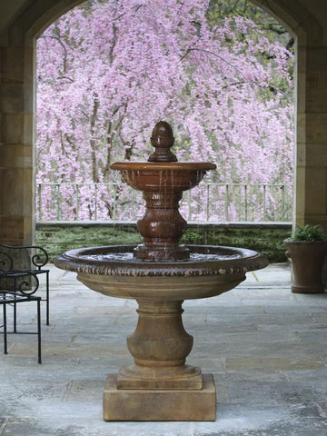 Campania International San Pietro Fountain Life on Plum