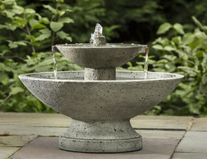 Campania International Jensen Fountain Life on Plum