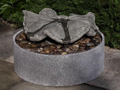 Campania International Disappearing Leaf Sculpture Fountain The Garden Gates