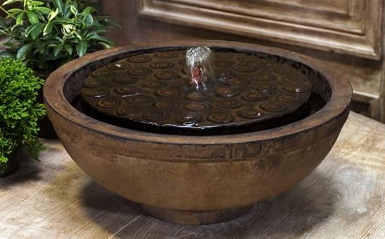 Campania International Cirrus Garden Terrace Fountain