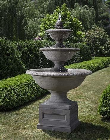 Image of Campania International Monteros Fountain