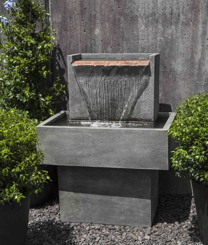 Image of Campania International Falling Water Fountain I Life on Plum