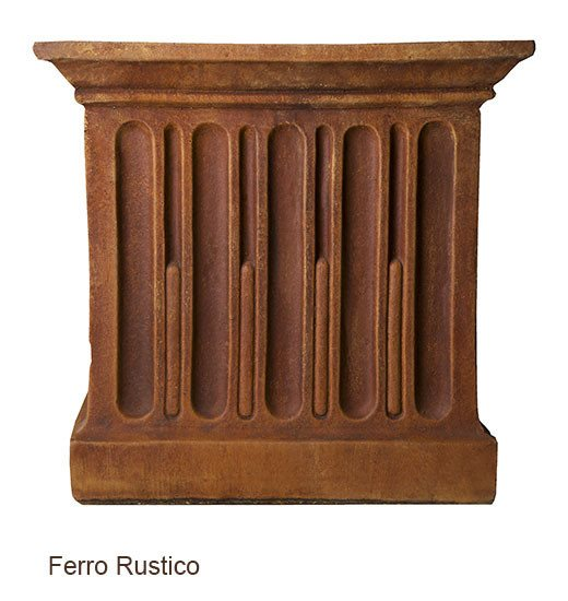 Campania International Williamsburg Low Fretwork Urn with Pedestal - Life onPlum - 7