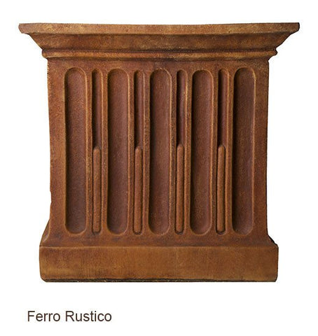 Image of Campania International Williamsburg Low Fretwork Urn with Pedestal - Life onPlum - 7