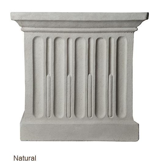 Campania International Smithsonian Egg and Dart Pedestal