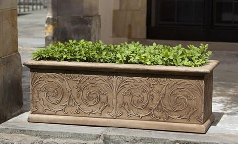 Image of Campania International Arabesque Medium Window Box The Garden Gates