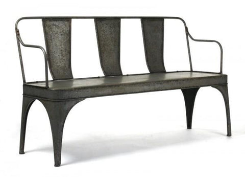 Zentique Adrienne Iron Bench