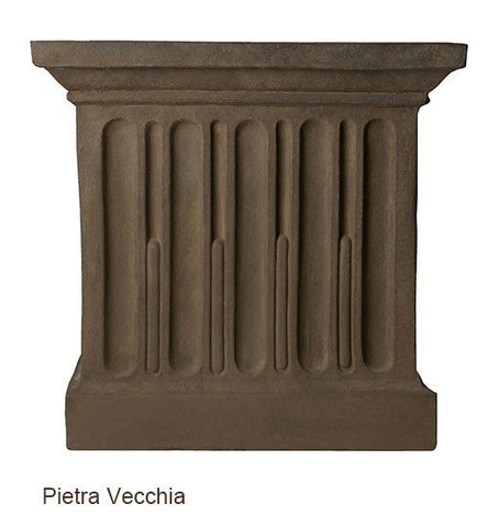 Image of Campania International Williamsburg Low Fretwork Urn with Pedestal - Life onPlum - 10