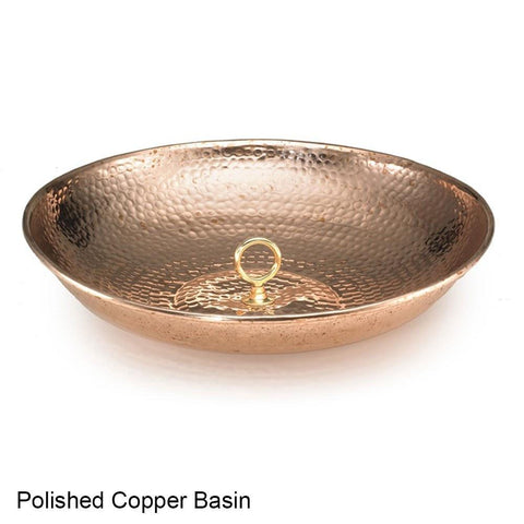 Good Directions Single Link Rain Chain in Polished Copper