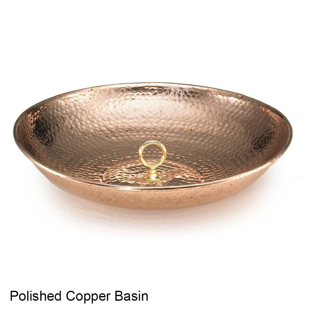 14 Cup Bluebell Rain Chain - Polished Copper by Good Directions Life on Plum