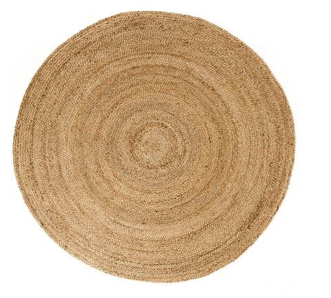 Image of Anji Mountain Kerala Natural Jute Rug 6' Round - Life onPlum - 1