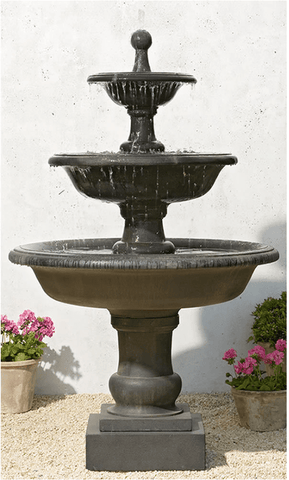 Campania International Vicobello Fountain Life on Plum