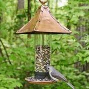 Palazzo Bird Feeder - Polished Copper by Good Directions Life on Plum