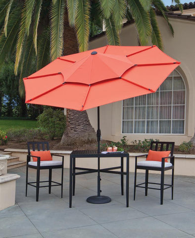 Treasure Garden 10ft Lotus Octagonal Umbrella