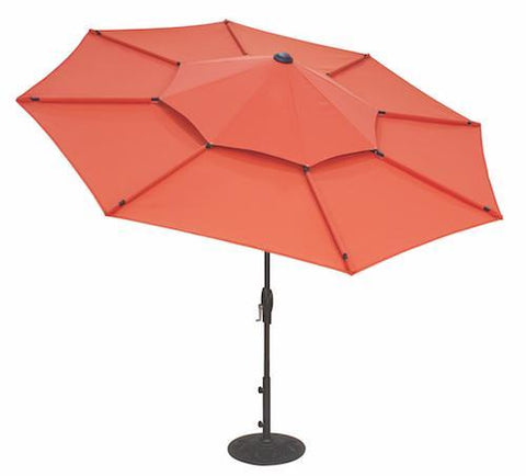 Image of Treasure Garden 10ft Lotus Octagonal Umbrella