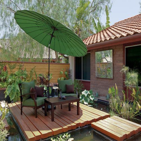Image of Treasure Garden 10ft Shanghai Collar Tilt Umbrella