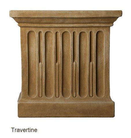 Campania International Smithsonian Foliated Scroll Urn