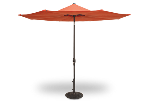 Treasure Garden 10' Lotus Octagonal Umbrella Life on Plum