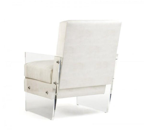Zentique Charles Acrylic Club Chair