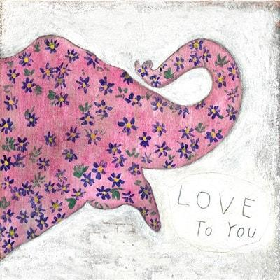 Image of Sugarboo Designs Art Print Pink Elephant - Life onPlum - 2