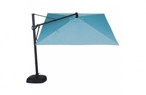 Treasure Garden 10ft Cantilever Square Umbrella Life on Plum