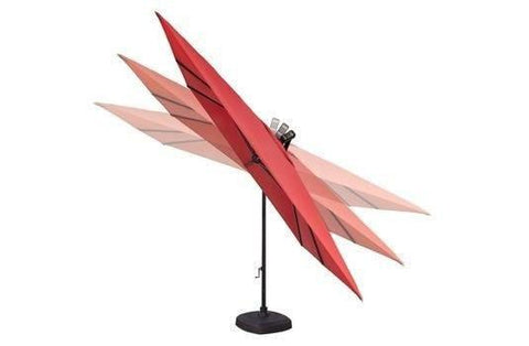 Treasure Garden 10ft Cantilever Square Umbrella