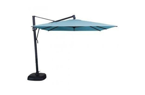 Image of Treasure Garden 10ft Cantilever Square Umbrella Life on Plum