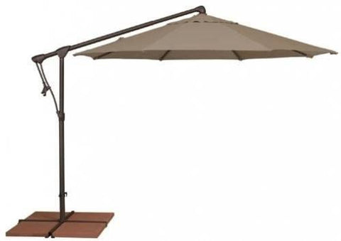 Treasure Garden 10ft Cantilever Umbrella Life on Plum