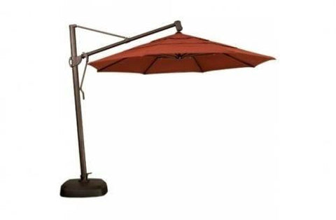Treasure Garden 11ft Cantilever Umbrella Life on Plum