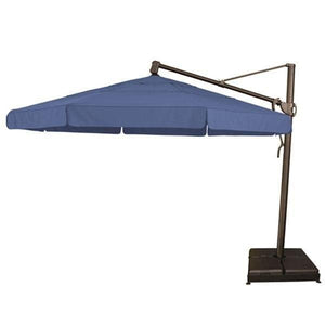 Treasure Garden 13ft Cantilever Umbrella Life on Plum