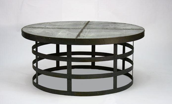 Alden Round Coffee Table By Zentique Life on Plum