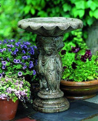 Campania International Cherub Birdbath The Garden Gates