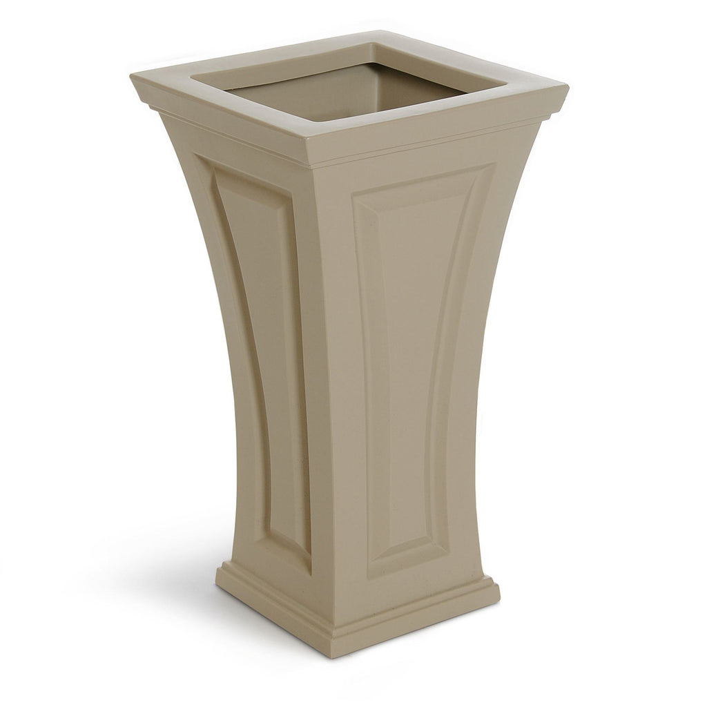Cambridge Tall Planter Clay By Mayne Life on Plum