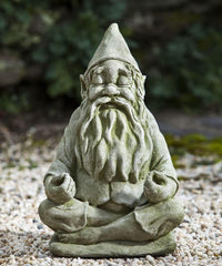 Campania International Big Fred Totally Zen Gnome Statue The Garden Gates