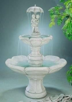 Image of Henri Studio April Showers Fountain Life on Plum