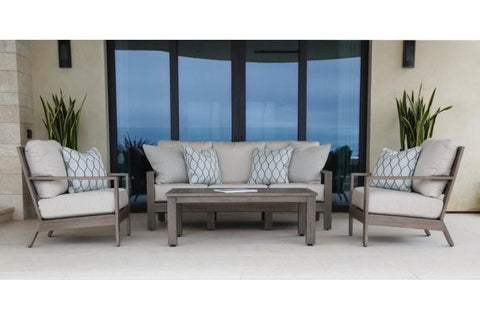 Sunset West Laguna Aluminum Outdoor Sofa