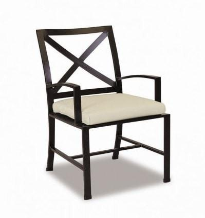 Sunset West La Jolla Outdoor Dining Chair with Cushion