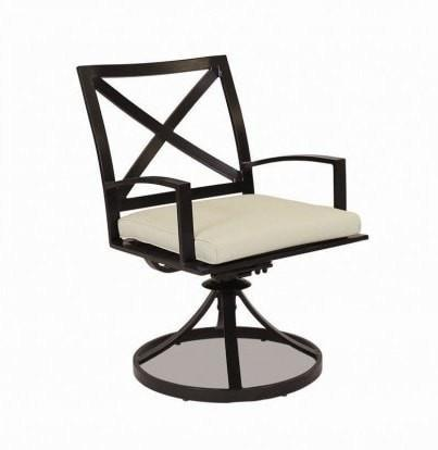 Image of Sunset West La Jolla Swivel Outdoor Dining Chair