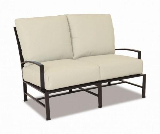 Sunset West La Jolla Outdoor Loveseat with Cushions