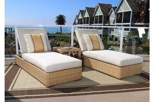 Sunset West Leucadia Adjustable Outdoor Chaise Lounge Set