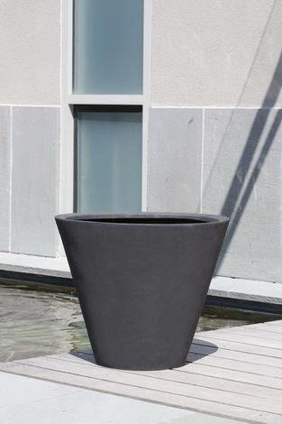 Campania International Laghetto Tall Cone Planter Set of 4 The Garden Gates