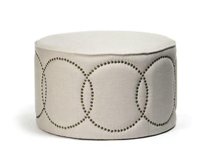 Daisi Ottoman By Zentique Life on Plum