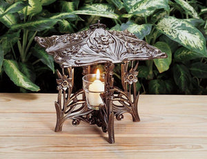 Daffodil Twilight Lantern By Whitehall Products Life on Plum