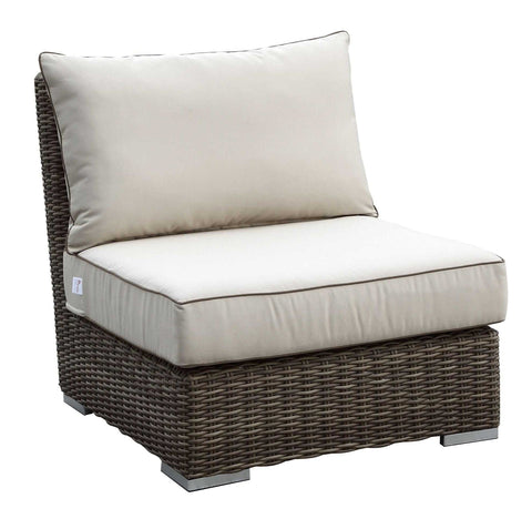 Coronado Armless Club Chair by Sunset West Life on Plum