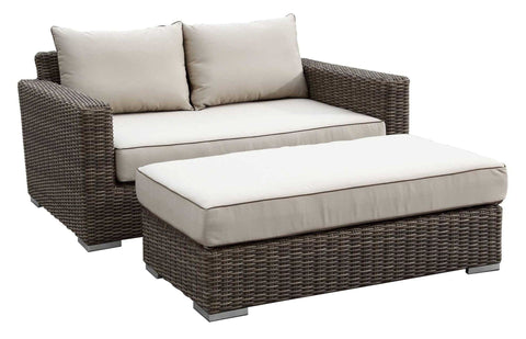 Coronado Double Chaise by Sunset West Life on Plum