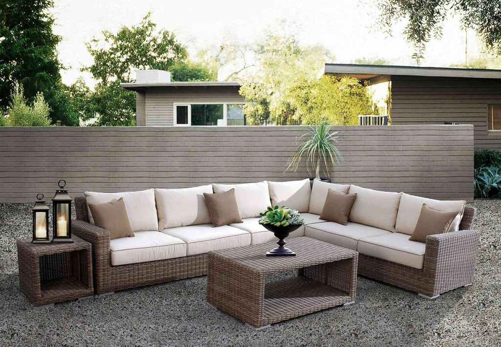 Coronado Sectional by Sunset West Life on Plum