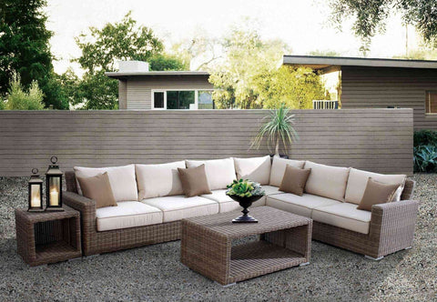 Image of Coronado Sectional by Sunset West Life on Plum