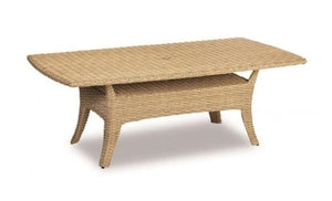 Leucadia 84 Boat Shaped Table by Sunset West Life on Plum